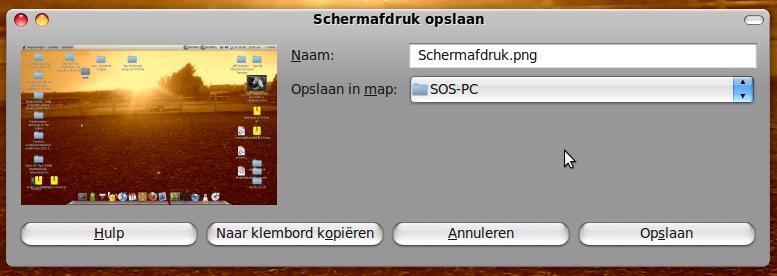printscreen ubuntu