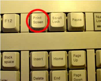 printscreen computer