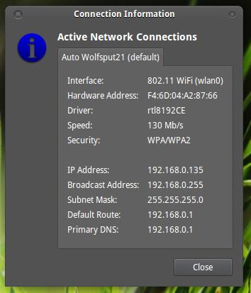 IP adres Ubuntu