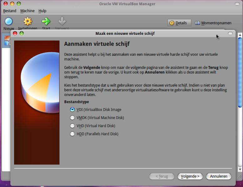 virtualbox_aanmakenvirtueleschijf