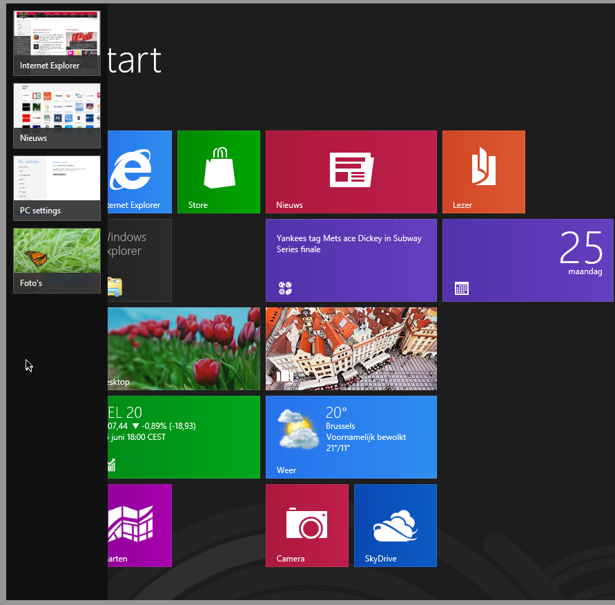 windows 8 taakbalk